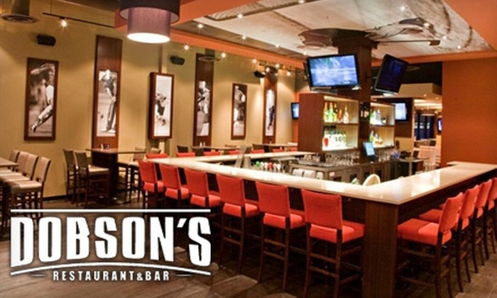 Dobson's Restaurant & Bar - Alyth - Bonnybrook - Manchester: $10 for $20 Worth of Eclectic Pub Grub and Potables at Dobson's Restaurant & Bar