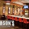 $10 for Pub Fare at Dobson's
