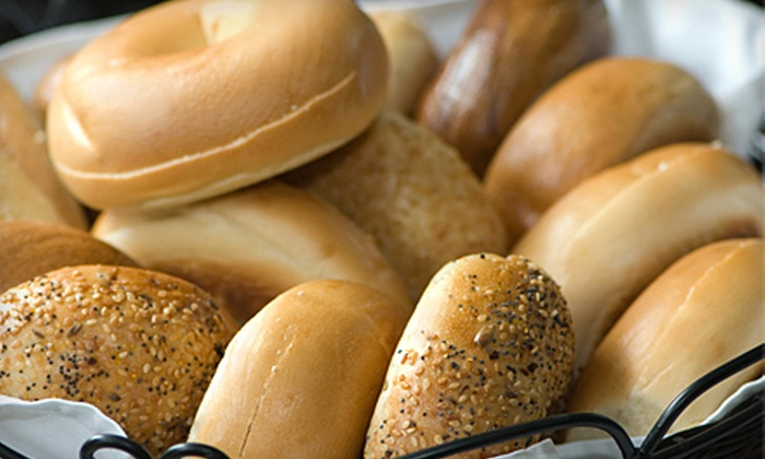 Bagels & Co.  - Clearview: $10 for $25 Worth of Bagels, Sandwiches, and Dessert at Bagels & Co. in Bayside