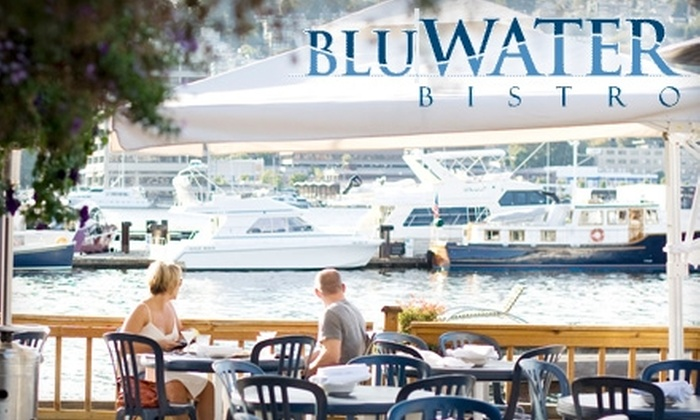 BluWater Bistro - Multiple Locations: $20 for $50 Worth of Northwest-Inspired Cuisine and Drinks at BluWater Bistro