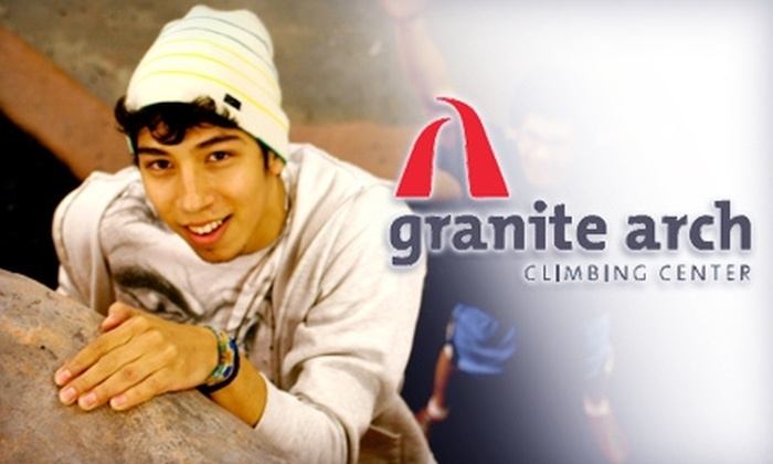 Granite Arch Climbing Center - Mather: $17 for Two-Hour Climbing 101 Course at Granite Arch Climbing Center in Rancho Cordova ($35 Value)