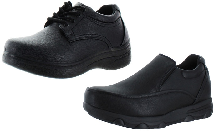 Moda Essentials Men's Oil-Resistant Kitchen Work Shoes