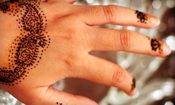 The Transformation Studio - The Market At First Colony: $25 for Himalayan Head Rub and $20 Worth of Henna Tattoos at The Transformation Studio in Sugar Land ($50 Total Value)
