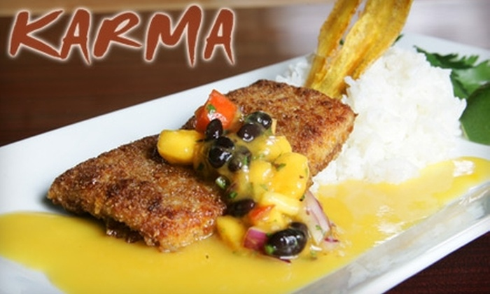 Karma Ponte Vedra - Palm Valley: $10 for $20 Worth of Fare & Drinks at Karma in Ponte Vedra