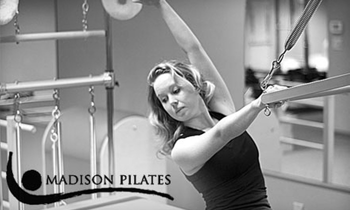 Madison Pilates - Fitchburg: $39 for a Four-Class Group Equipment Pilates Pass at Madison Pilates in Fitchburg ($120 Value)