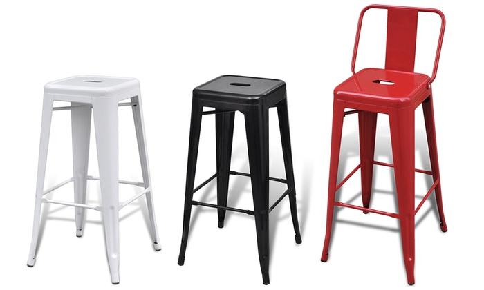 lot de tabourets groupon shopping. Black Bedroom Furniture Sets. Home Design Ideas