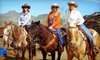 MTM Ranch Horseback Adventures - Cave Creek: Morning Horseback Ride for One, Two, or Four at MTM Ranch (Up to 52% Off)