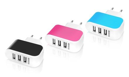 1 o 2 cargadores con 3 salidas USB Imperii
