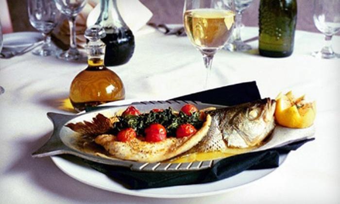 La Tavola Ristorante Italiano - Baltimore: $20 for $40 Worth of Italian Fare for Dinner at La Tavola Ristorante Italiano