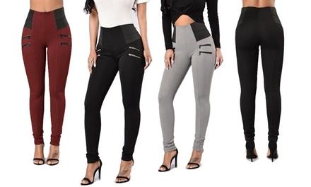 Pantalones elásticos para mujer