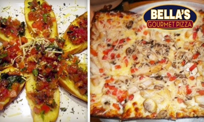 Bella's Gourmet Pizza - Old Pasadena: $10 for $20 Worth of Pizza and Italian Fare at Bella's Gourmet Pizza