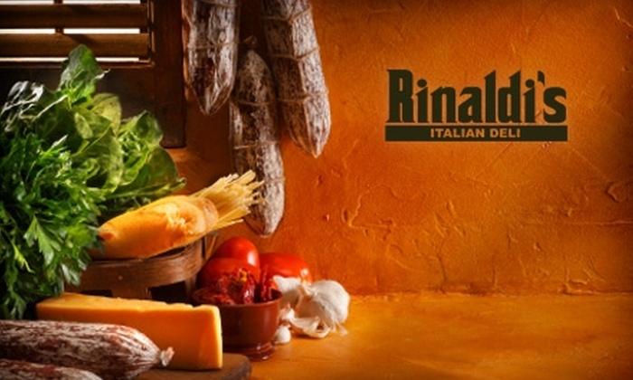 Rinaldi's Italian Deli - West Palm Beach: $7 for $14 Worth of Sandwiches and More at Rinaldi's Italian Deli