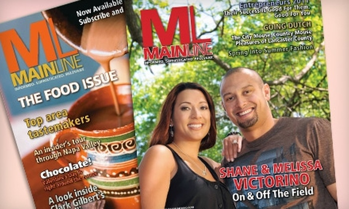 """Mainline Magazine"" - Multiple Locations: $7 for a One-Year Subscription to ""Mainline Magazine"" ($14.50 Value)"