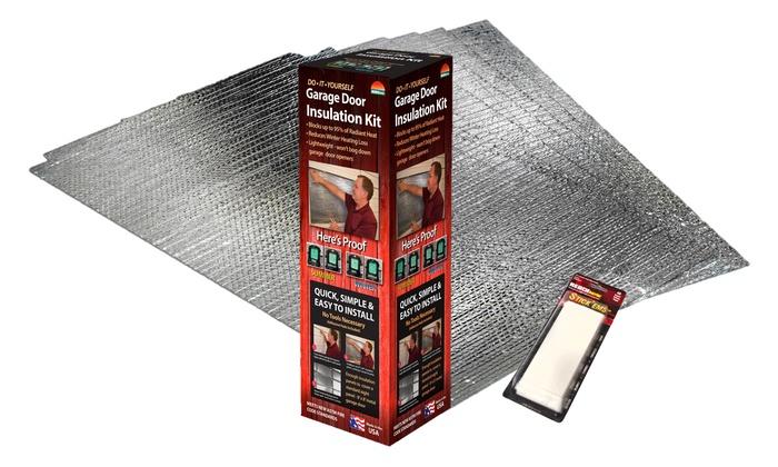 Garage Door Insulation Kit Groupon Goods