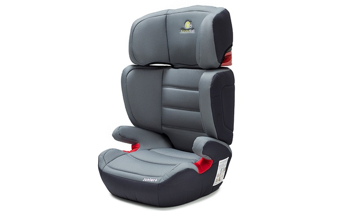 Sillas de coche para ni os kinderkraft junior groupon goods for Ofertas de sillas de coche para ninos