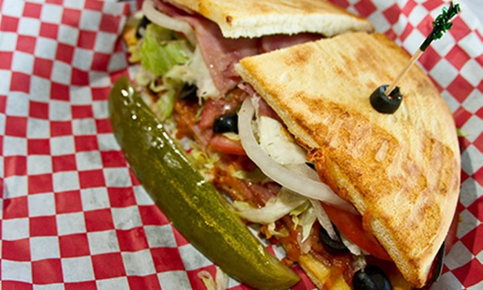 TJ's Burgers and More - Cameron: $12 for $24 Worth of Burgers and Sandwiches at TJ's Burgers and More (Half Off).