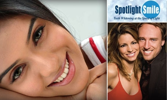 Spotlight Smile - Austin: $149 for Teeth-Whitening Treatments, Re-Mineralization Treatment, and Whitening Pen at Spotlight Smile ($426 Value)