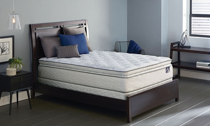 America's Mattress - IN-STORE PICKUP: $50 for $400 Toward a Serta Edgecrest Full, Queen, or King Sets at America's Mattress