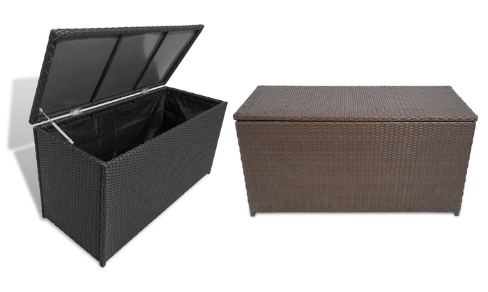 Groupon Goods Global GmbH: Vida XL Garden Storage Chest in Choice of Colour With Free Delivery