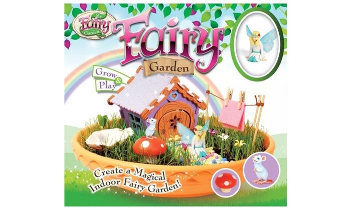 My Fairy Garden Playset Groupon Goods