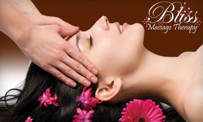 Bliss Massage Therapy - Wauseon: $25 for One-Hour Custom Massage at Bliss Massage Therapy (Up to $80 Value)