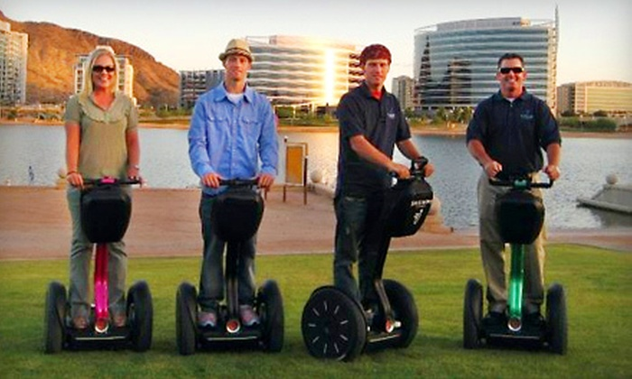 Segway of Scottsdale - Multiple Locations: $39 for a 90-Minute Tempe or Scottsdale Segway Tour from Segway of Scottsdale ($75 Value)