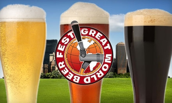Great World Beer Festival - Chelsea: $30 for One Ticket to Great World Beer Festival on October 2