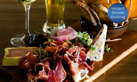 Charcuterie Board with Wine or Beer for Two ($29), Four ($58) or Six People ($87) at The Cabin (Up to $153 Value)