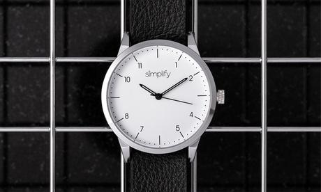 Reloj de cuero Simplify