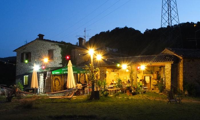 FuoriSquadro Ristorante - novafeltria: Menu di carne con un litro di vino Sangiovese per 2 o 4 persone al ristorante FuoriSquadro (sconto fino a 61%)