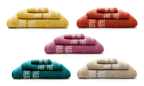 Set de 3 toallas Ted Lapidus