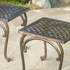 Mckinley Cast Outdoor End Table (Set of 2)
