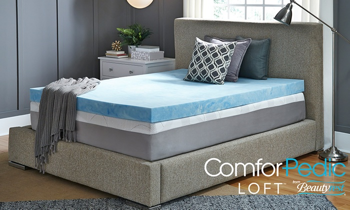 Up To 83 Off On Comforpedic Loft Mattress Topper