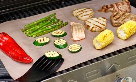 Antiaanbakmatjes voor de barbecue