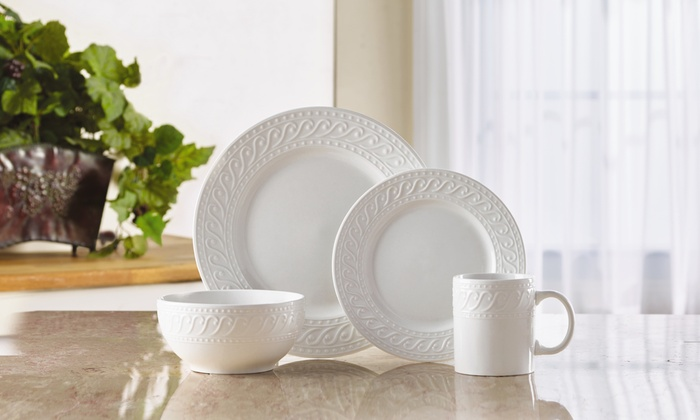 Pfaltzgraff Everyday Kensington Dinnerware Set (16-Piece) & Pfaltzgraff Everyday Kensington Dinnerware Set (16-Piece) | Groupon