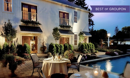 Stay with Daily Champagne and Salon or Spa Credits at The Inn at Leola Village in Leola, PA. Dates into June.