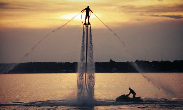 Coastal FlyBoard, LLC - Northwest Tampa: FlyBoard Jet Propulsion Experience for One Hour or One Half Day from Coastal Flyboard (Up to 63% Off)