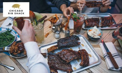 image for American-Inspired Three-Course Meal with Cocktail for Up to Six at Chicago Rib Shack (Up to 50% Off)