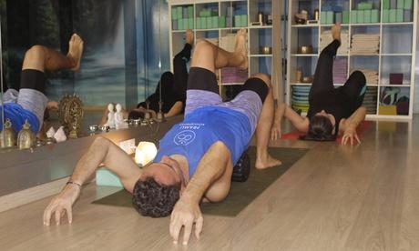 1, 2 o 3 meses de clases online de yoga Bowspring en grupo de máximo 6-8 personas con Pramu Bowspring