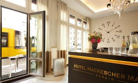 Berlin - Classic- oder Comfort-Doppelzimmer für Zwei, opt. mit Frühstück, im Classik Hotel Hackesch