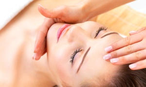 Elements Spa at Fitness Evolution: Massage with Aromatherapy and Hand and Foot Scrub, Signature Facial, or Both at Elements Spa (Up to 53% Off)