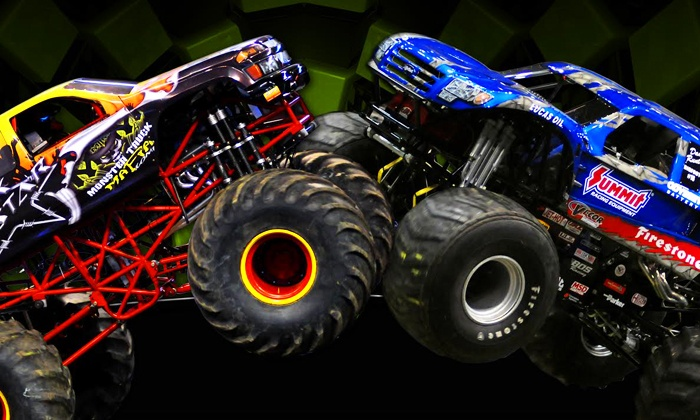 Monster X Tour - Battle Creek: Monster X Tour Package with a Pit Pass at Kellogg Arena on Friday, April 4, or Saturday, April 5 (Up to 48% Off)