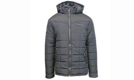 Men's Heavyweight Quilted and Padded Bubble Jackets (Size M)