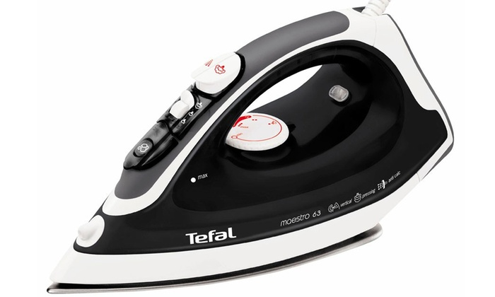how to use steam iron tefal
