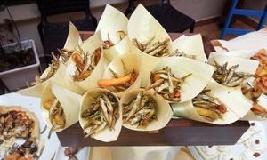 La Locanda Di Artemide: Menu di pesce à la carte con 4 portate e calice o bottiglia di vino da La Locanda Di Artemide (sconto fino a 71%)