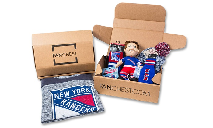 FANCHEST: Regular or MVP Men's or Women's Rangers FANCHEST from FANCHEST (Up to 30% Off)