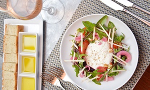 Fig & Olive - Westchester: Upscale Mediterranean Dinner for Two or Four: Three Courses and Drinks at Fig & Olive Westchester (Up to 41% Off)