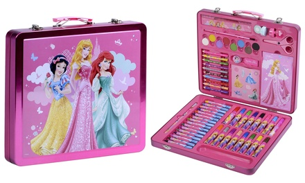 Sambro Disney Princess Tin Art Case