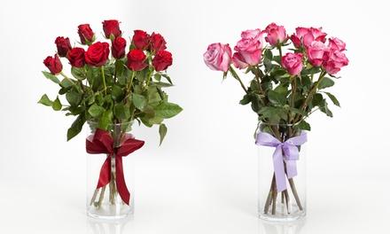 XL-Rosenstrauß Dankeschön oder Wahre Liebe mit 10 oder 12 Rosen (bis zu 25% sparen*)
