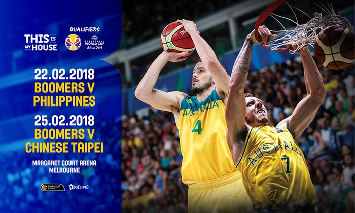 Boomers FIBA World Cup Qualifiers 2018 - Margaret Court Arena: Boomers FIBA World Cup Qualifiers 2018 at Margaret Court Arena: Tickets from $10.20, 22 & 25 February